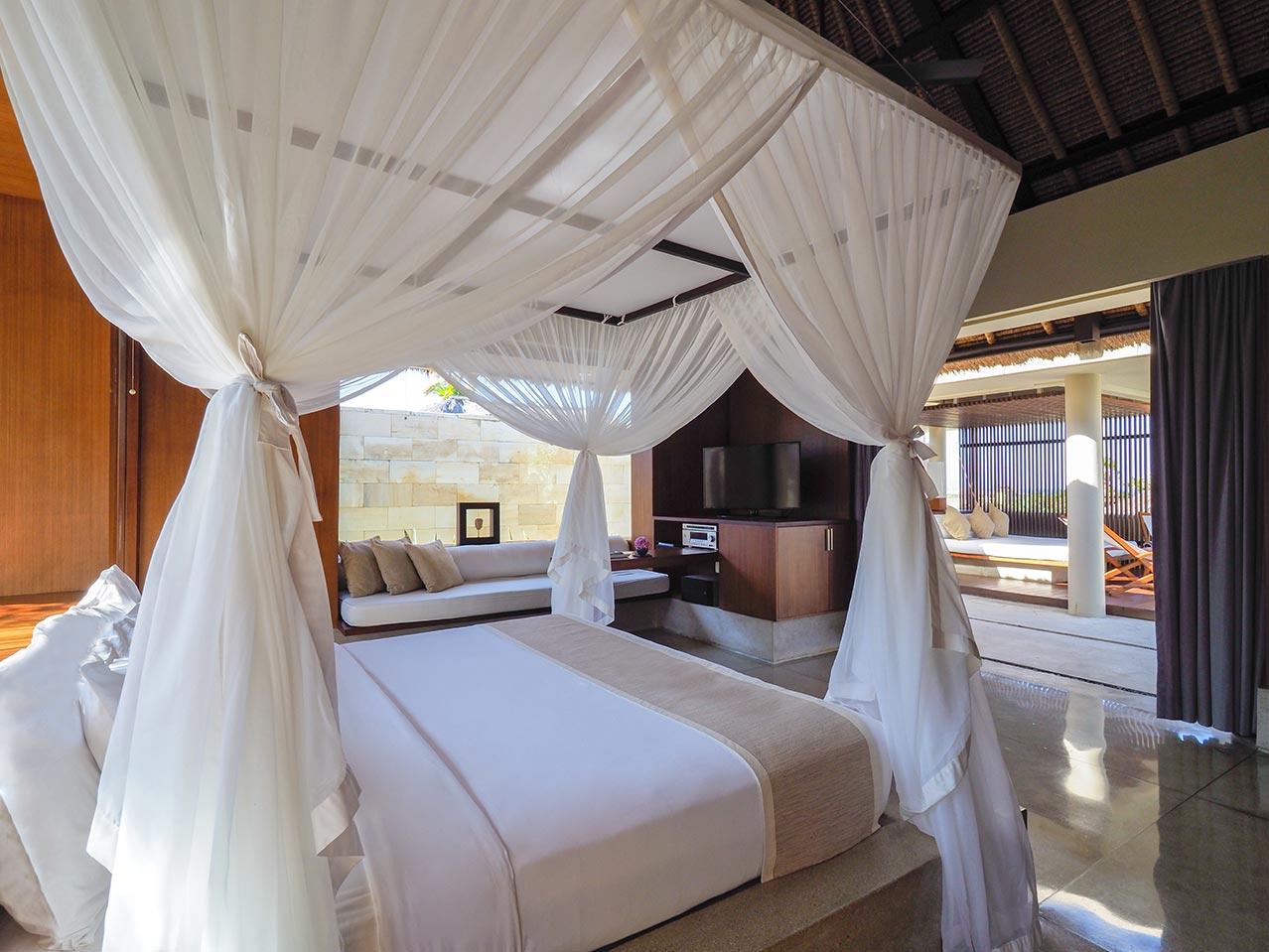 Konsep terbuka di kamar tidur (Sumber: thebale.com)