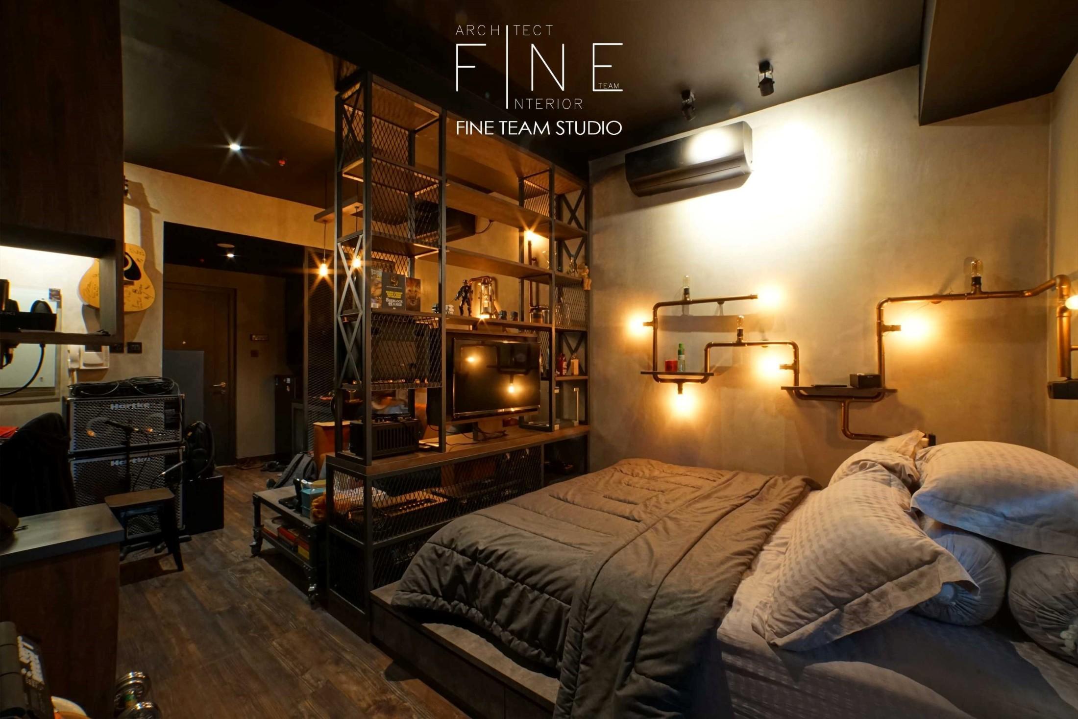 Menelusuri Detail Interior Apartemen Industrial yang Berkarakter Karya Fine Team Studio | Foto artikel Arsitag