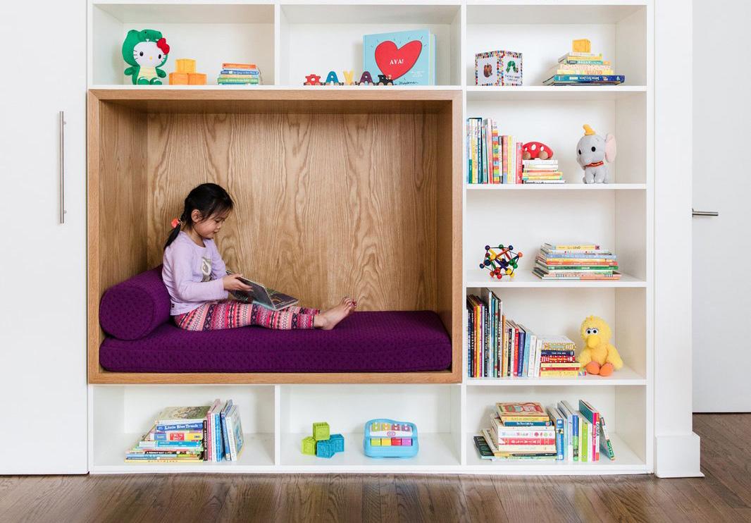 6 Cara Kreatif Menciptakan Sudut Baca Anak yang Lucu dan Menggemaskan | Foto artikel Arsitag