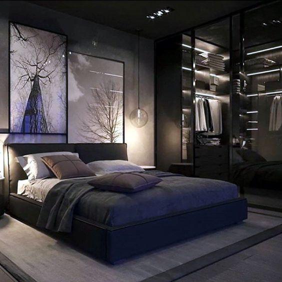 Hasil gambar untuk Jasa Desain Interior Berikan Nuansa Gelap pada Desain Interior Kamar Tidur