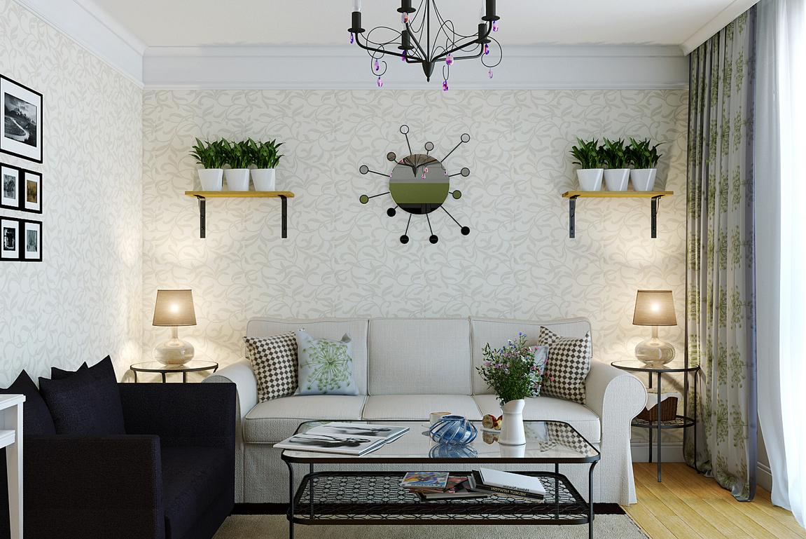 Tanaman hijau di rak dinding (Sumber: tomsroidrippinhotsauce.com)