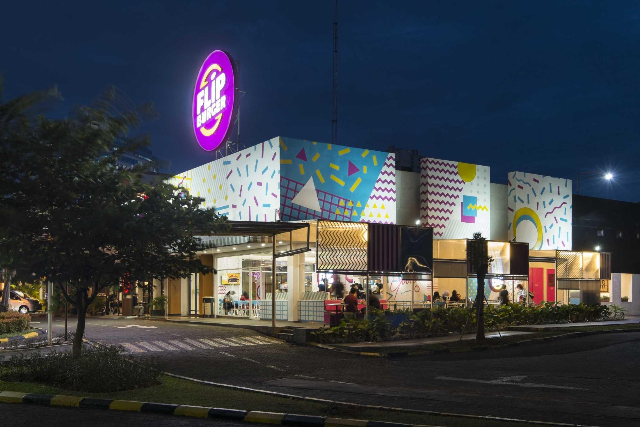 Desain Restoran Fast Food yang Satu Ini Sangat Instagrammable! | Foto artikel Arsitag