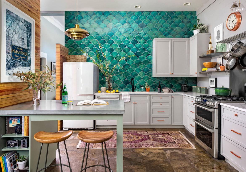 Desain Interior Dapur Cantik Bergaya Bohemian yang Tampil Beda | Foto artikel Arsitag