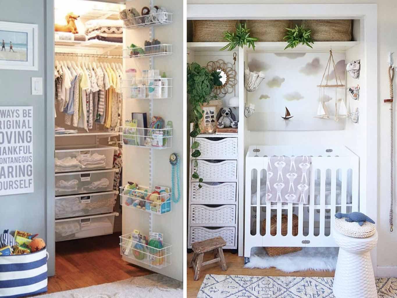 Lemari khusus untuk semua perlengkapan bayi, via chaylorandmads.com