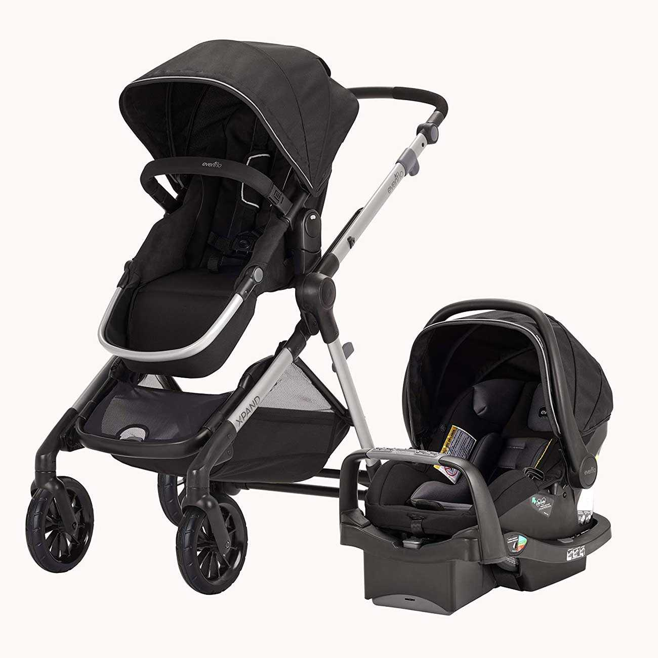 Perlengkapan bayi multifungsi, stroller sekaligus car seat, via babybargains.com