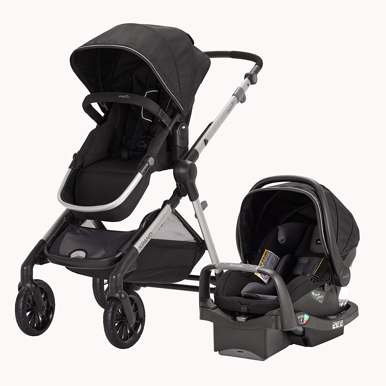 Perlengkapan bayi multifungsi, stroller sekaligus car seat (Sumber: babybargains.com)