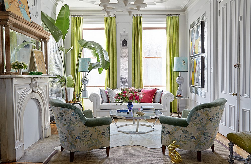 Satu tanaman besar yang jadi pusat perhatian (Sumber: onekingslane.com)