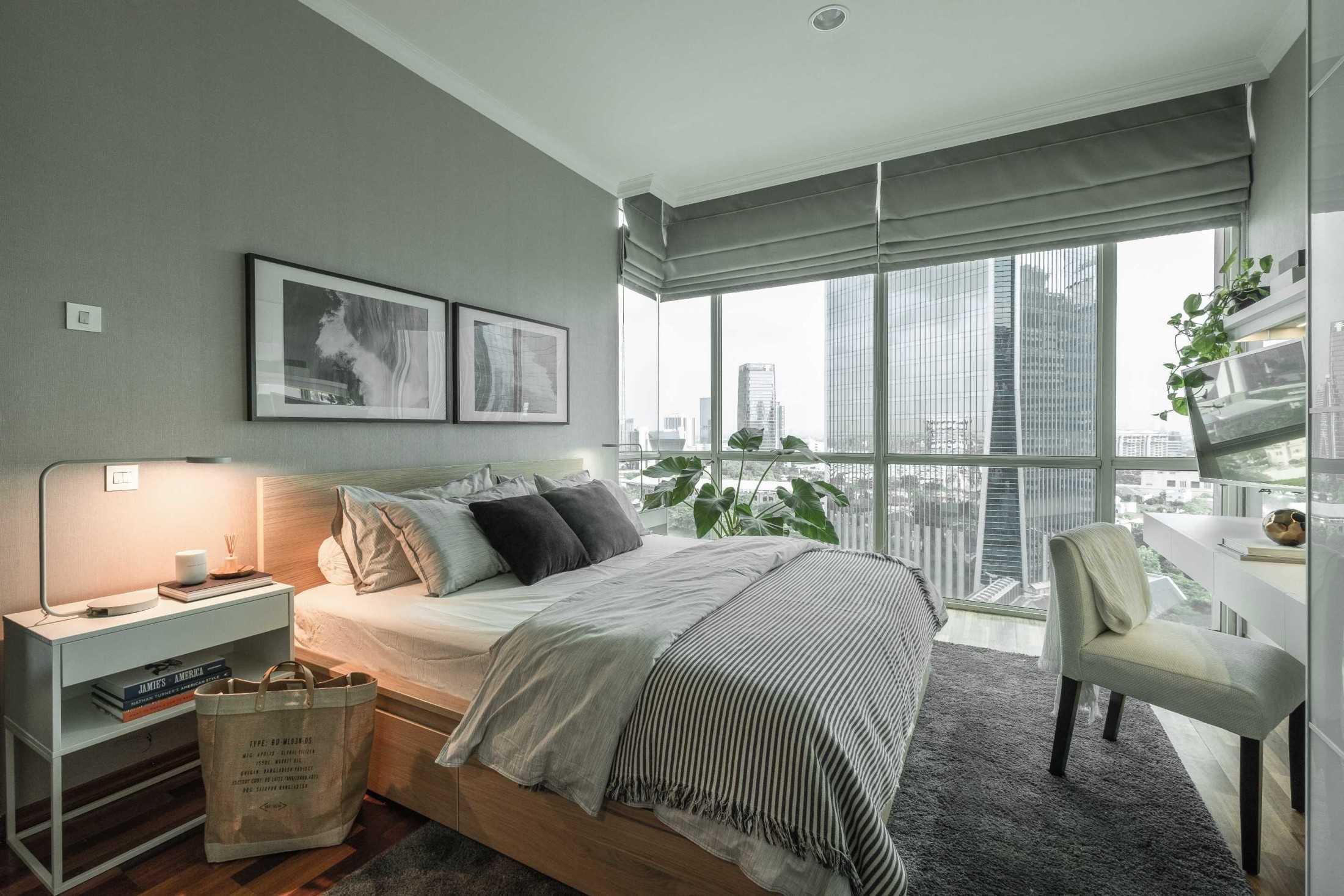 Kamar tidur BM Residence karya Makai Design Company (Sumber: arsitag.com)