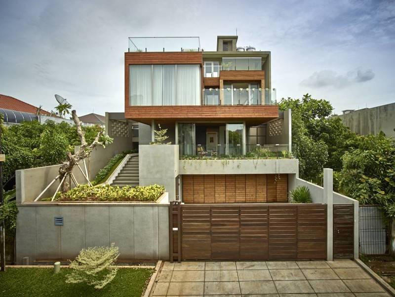 Kembang Murni House karya Raw Architecture, via arsitag.com