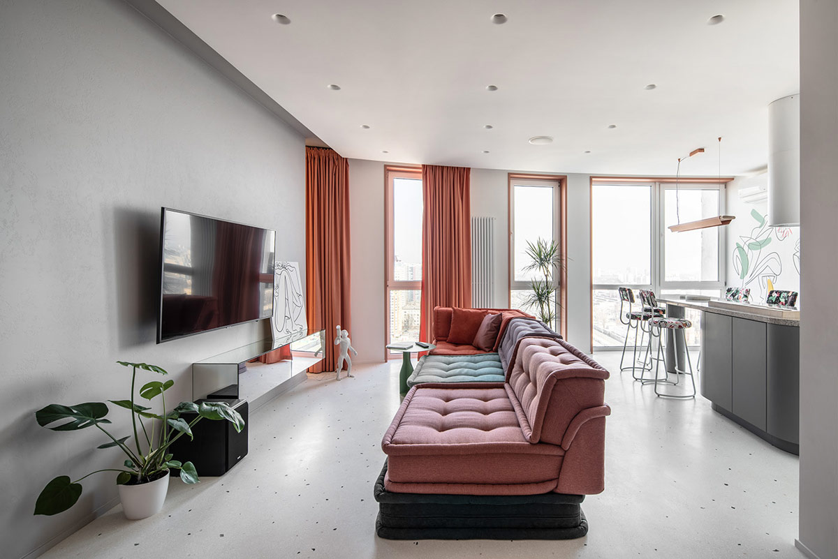 Gaya minimalis modern menjadi konsep utama (Sumber: home-designing.com)