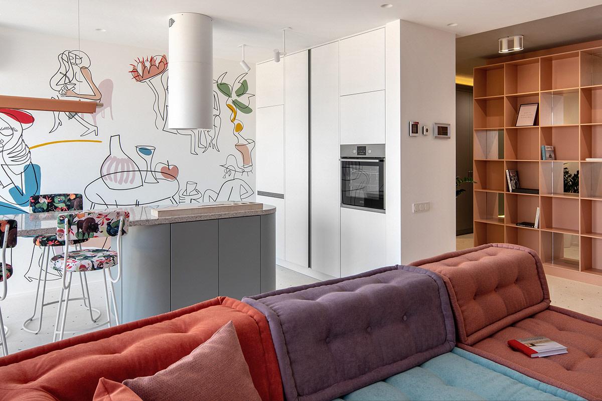 Perabotan simpel dan minimalis (Sumber: home-designing.com)