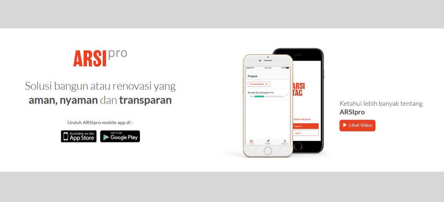 Arsipro dapat membantu kelancaran dan keamaanan proyek Anda, via arsitag.com