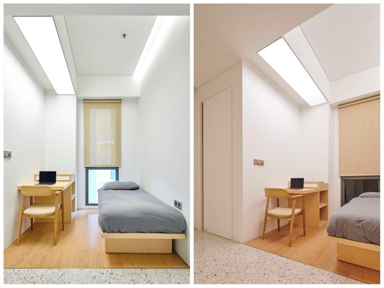 Tempat bekerja yang nyaman, proyek Marigold Apartment karya Design Donk (Sumber: arsitag.com)