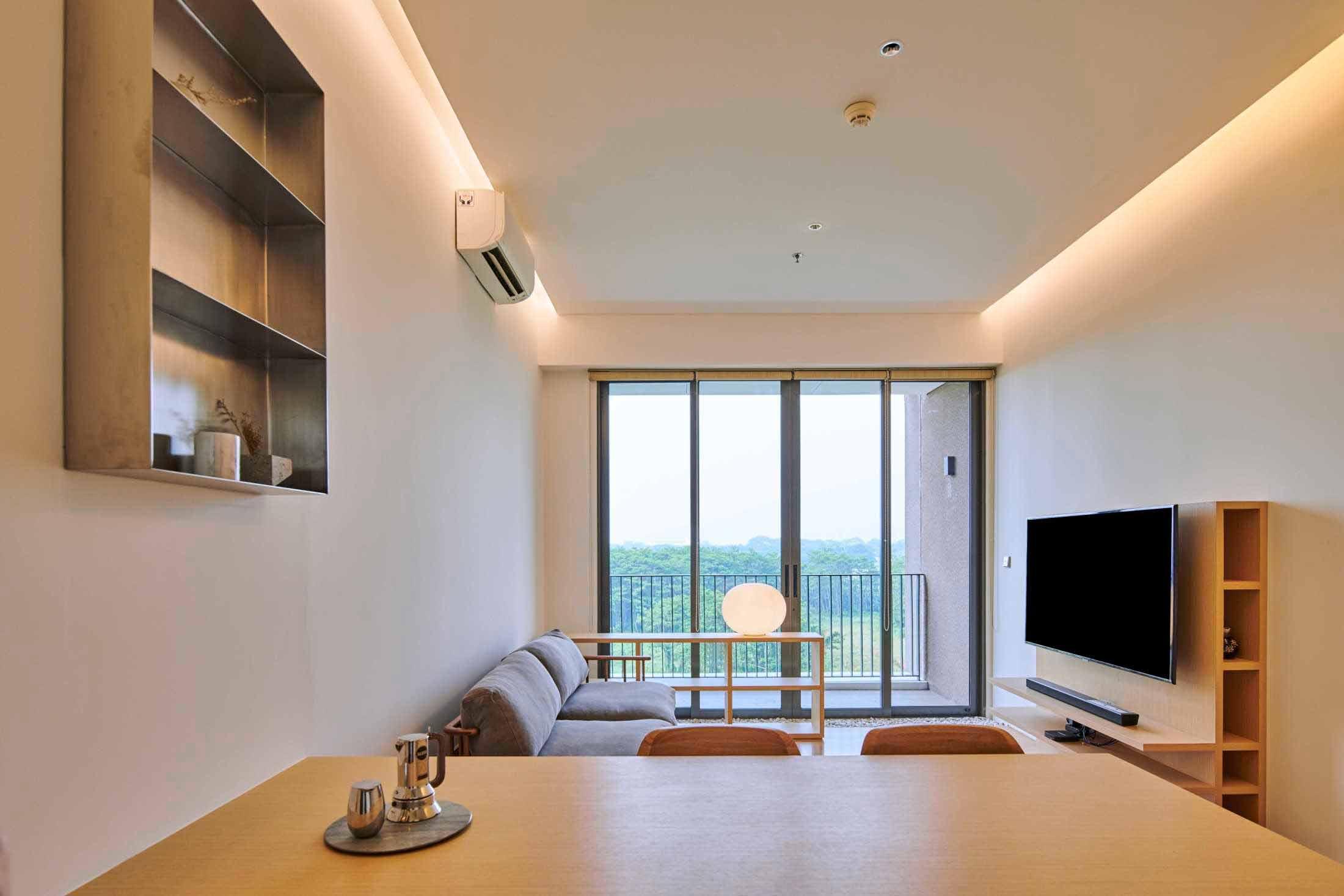 Desain Interior Apartemen Minimalis Yang Simpel Rapi Dan Kekinian Ala Design Donk Arsitag