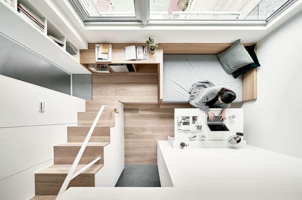 Desain Apartemen Minimalis Mungil yang Cantik dan Hemat Ruang   Foto artikel Arsitag