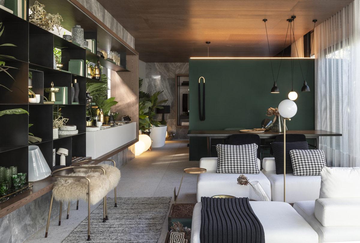 Dapur terbuka dan area ruang makan (Sumber: home-designing.com)