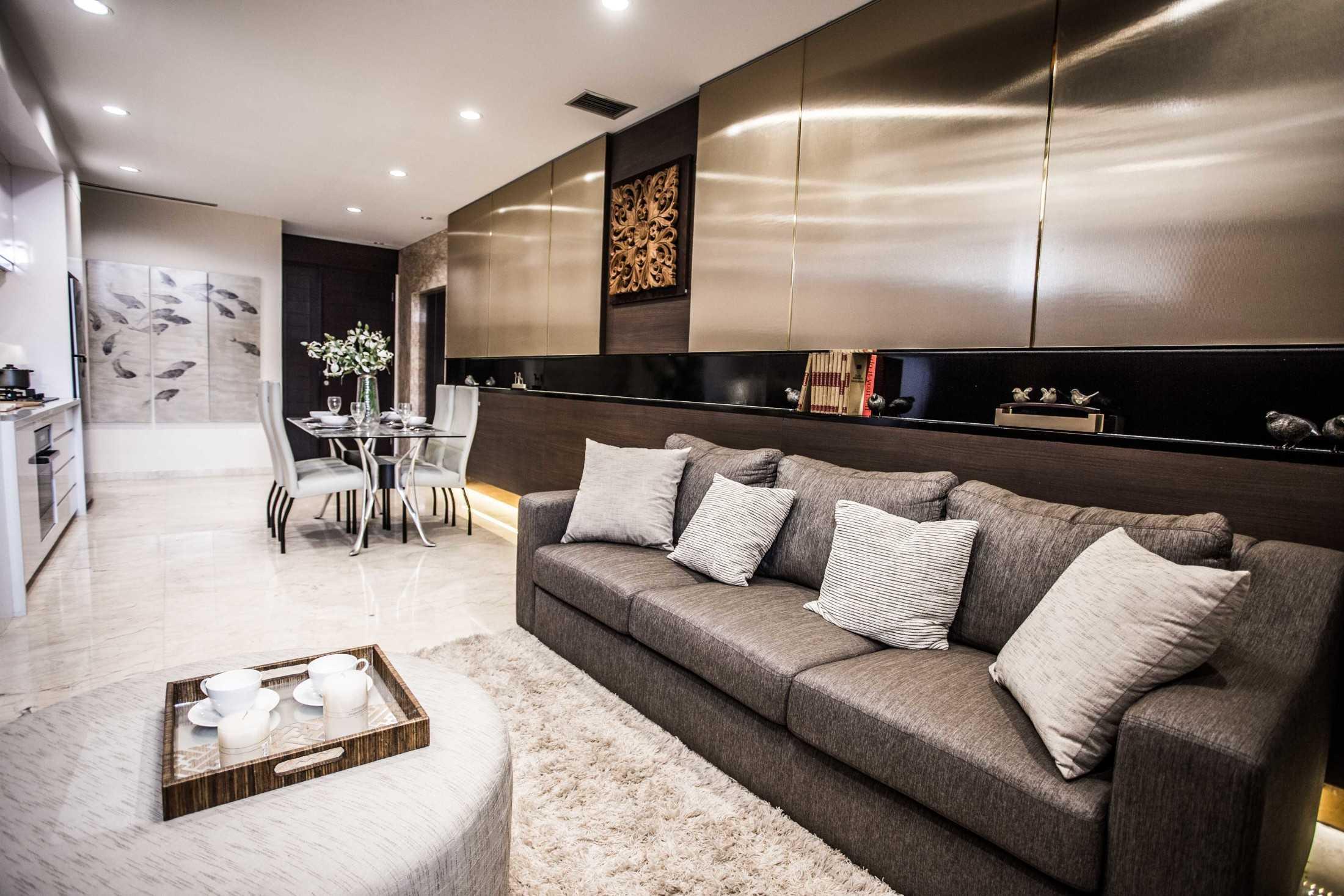 Desain Apartemen Minimalis Kontemporer dengan Sentuhan Eklektik Mewah | Foto artikel Arsitag