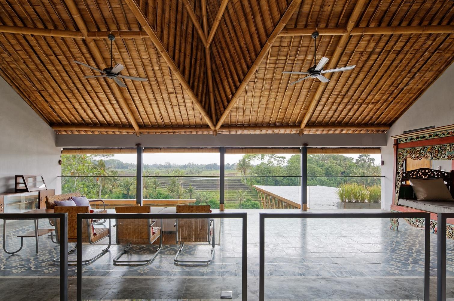 Permainan Arsitektur Bambu untuk Rumah Modern Super Keren ala Budi Pradono | Foto artikel Arsitag