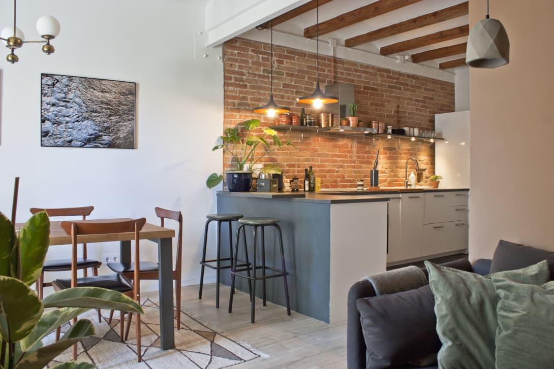 Desain Interior Rumah Mungil Yang Memadukan Gaya Skandinavian Dan Boho Chic Arsitag Interior rumah kecil unik