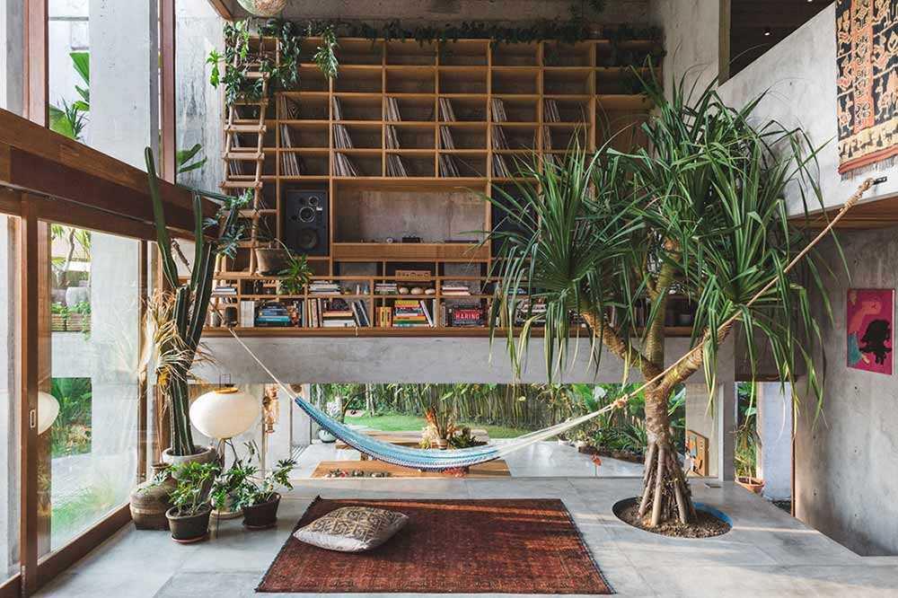 Arsitektur Rumah Industrial Tropis Besutan Patishandika di Bali yang Memukau | Foto artikel Arsitag