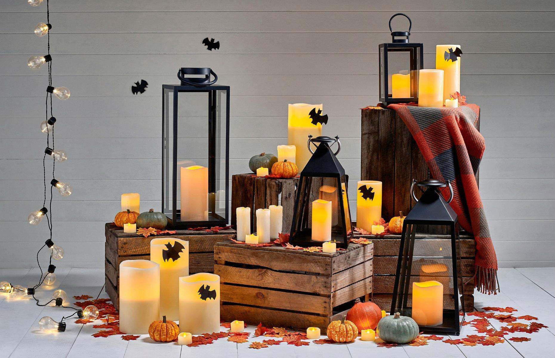 Pencahayaan untuk memberikan kesan spooky (Sumber: loveproperty.com)