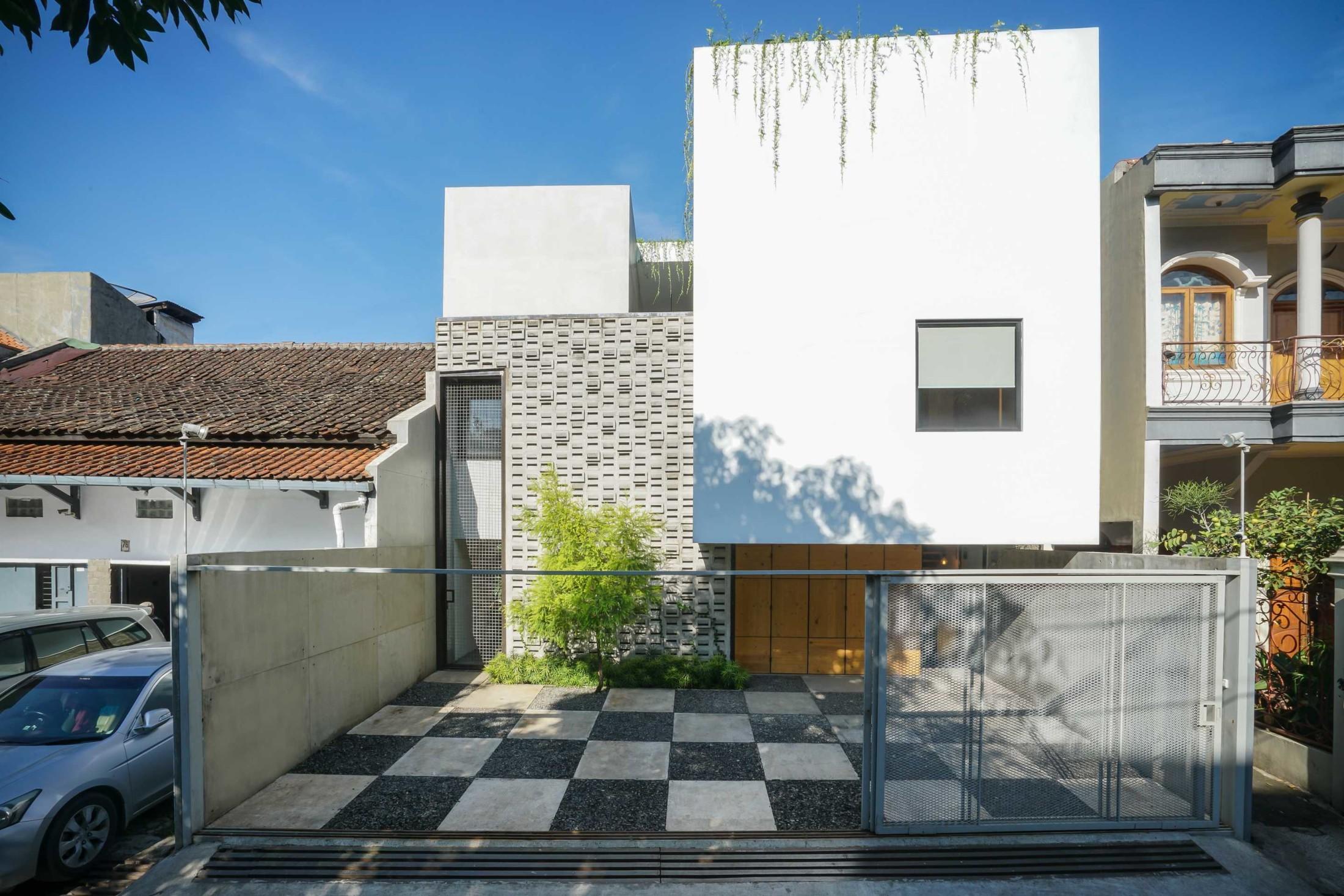 Eksterior rumah minimalis yang simpel namun super cantik (Sumber: arsitag.com)