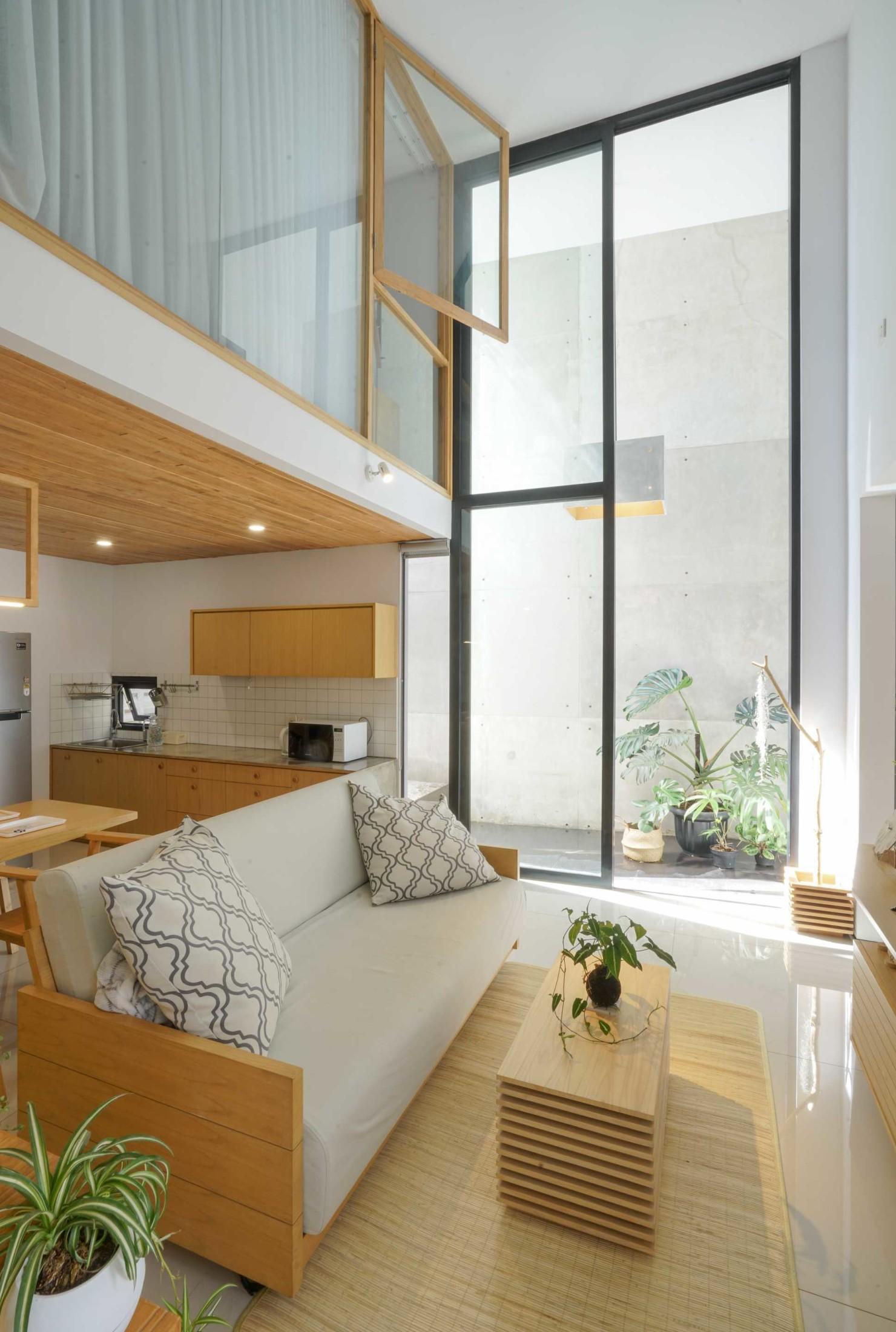 Konsep ruang terbuka untuk rumah minimalis yang terasa lega (Sumber: arsitag.com)