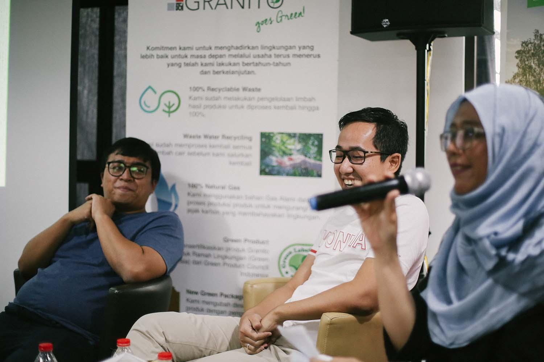 Kelas talkshow ditutup dengan sesi tanya-jawab bersama peserta yang hadir (Sumber: Arsitag.com)