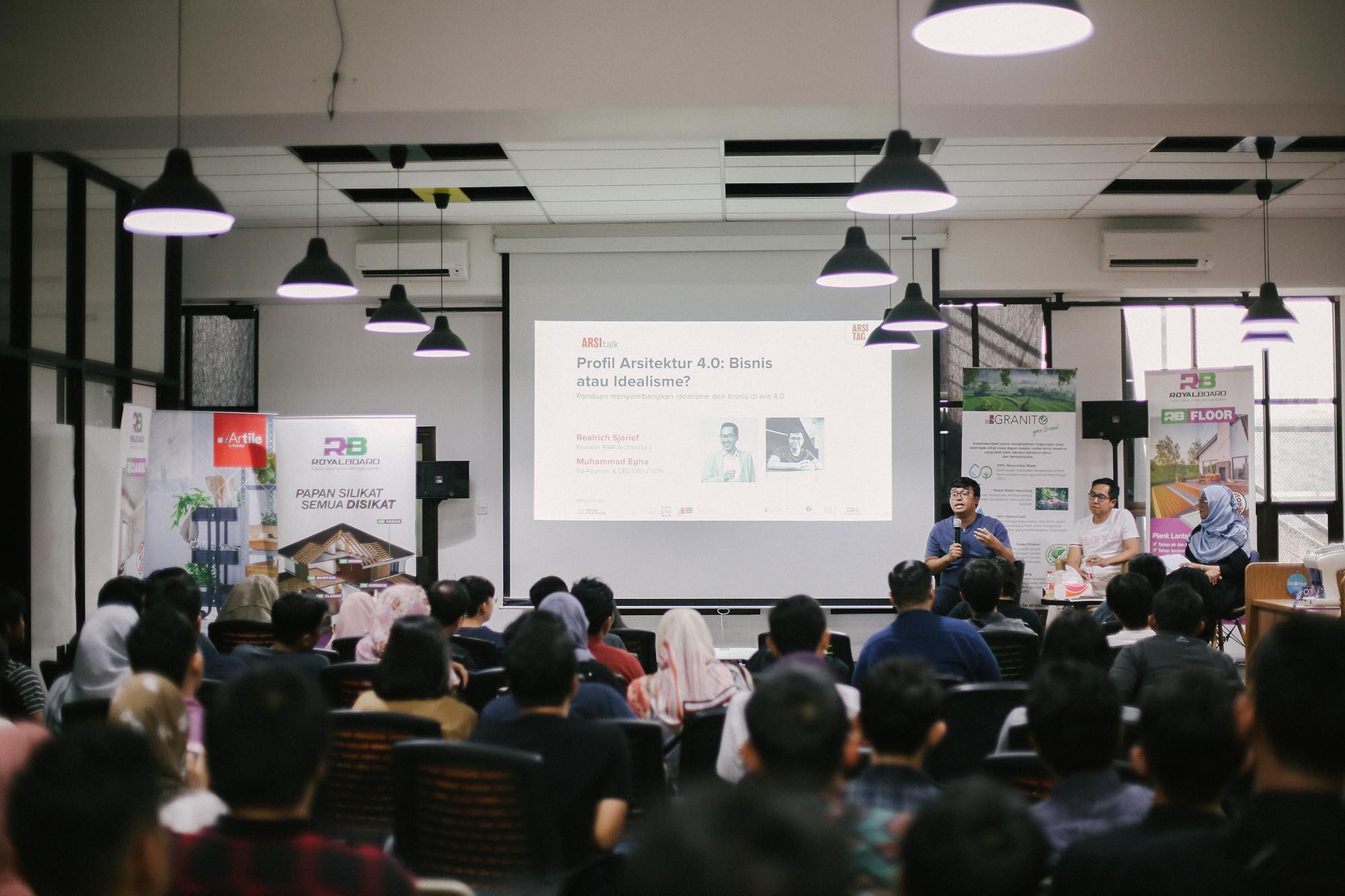 ARSItalk: Menjadi Pelaku Bisnis Arsitektur yang Responsif Terhadap Perkembangan Teknologi   Foto artikel Arsitag