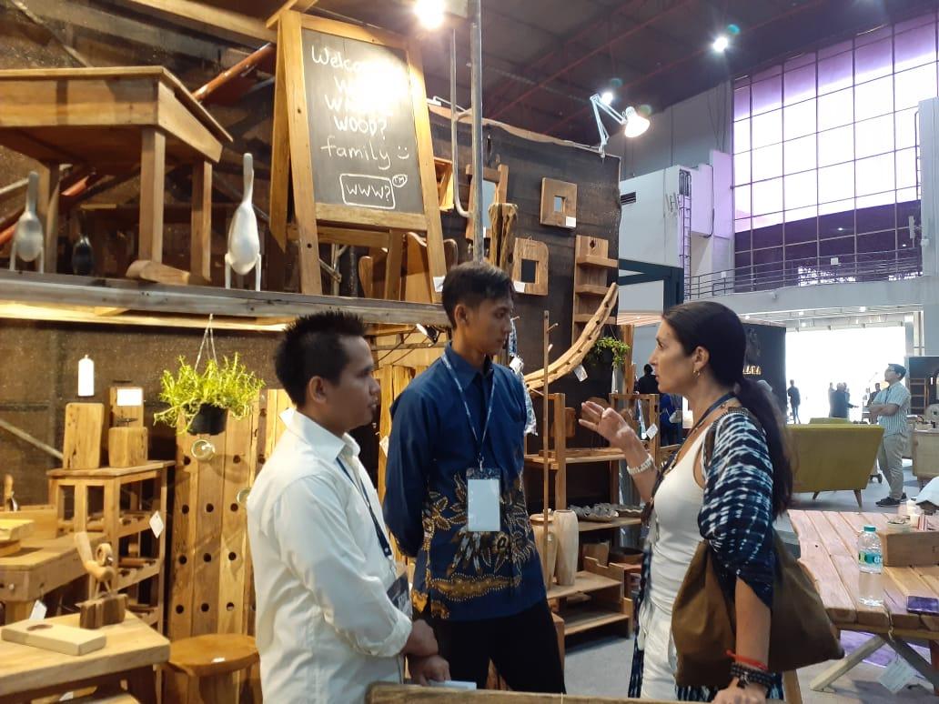 Hospitality Indonesia juga menjadi ajang edukasi masyarakat tentang tren desain di industri mebel, kriya, dan horeca (Sumber: Dok. Hospitality Indonesia)
