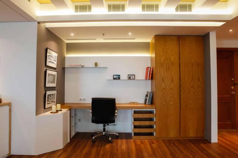 Home office keren desan minimalis