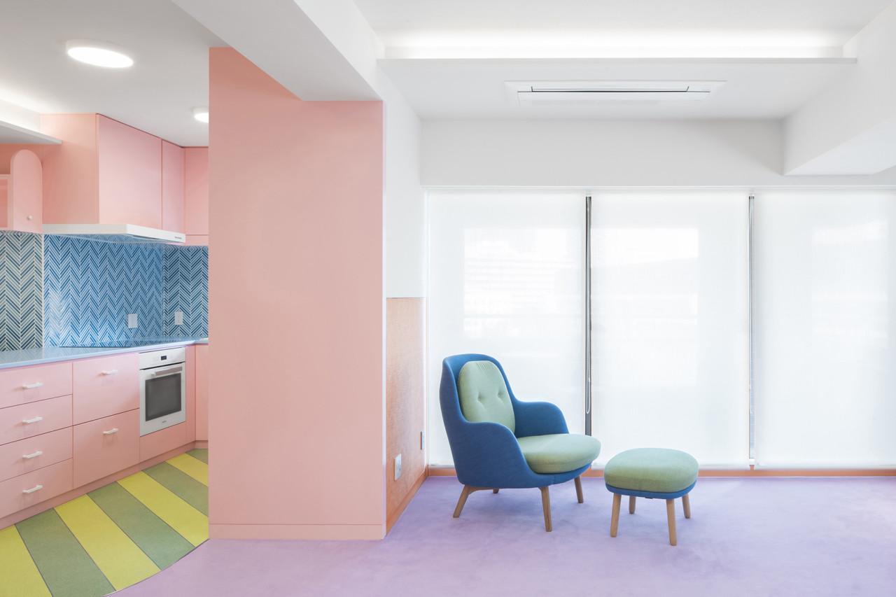 Desain Apartemen Kontemporer Bernuansa Pastel Super Imut di Jepang | Foto artikel Arsitag