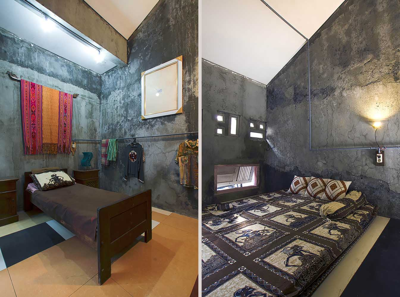 Kamar tidur Omah Amoh (Sumber: archdaily.com)