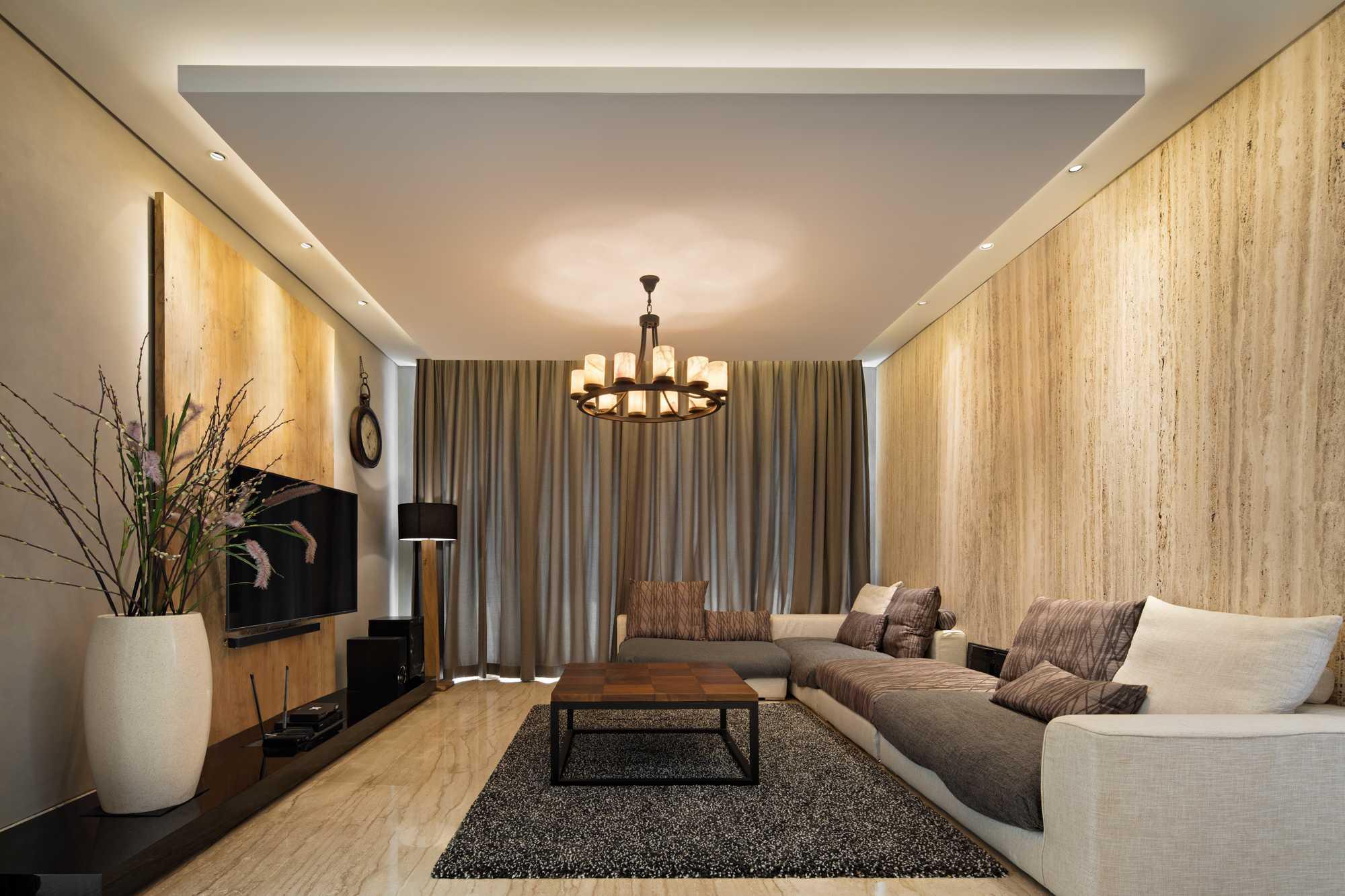 Ruang keluarga B House karya Gohte Shafuji (Sumber: arsitag.com)