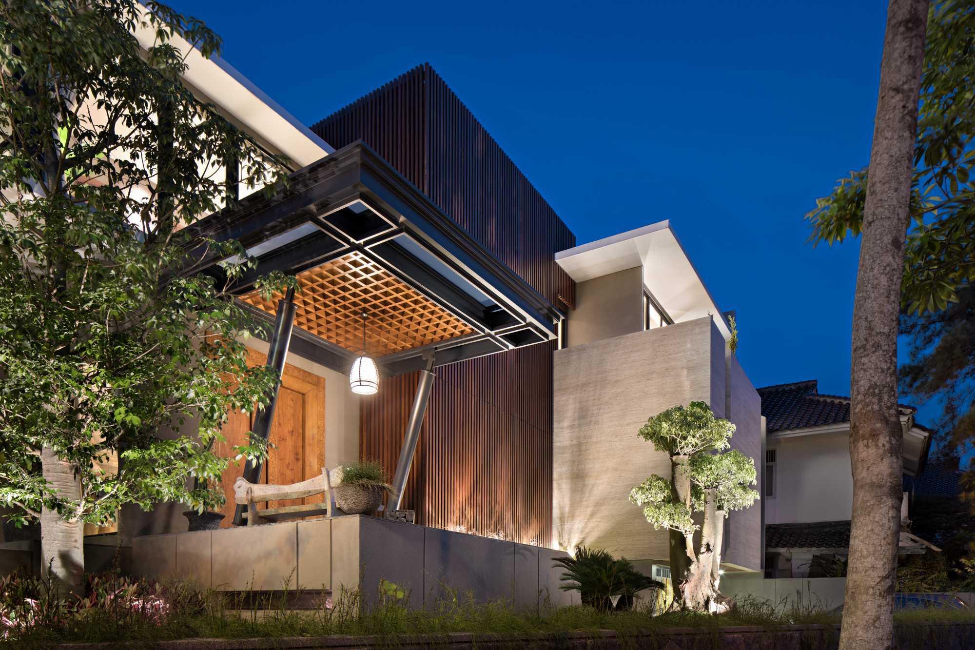 Desain Rumah Mewah Kontemporer yang Memukau Besutan Gohte Shafuji | Foto artikel Arsitag
