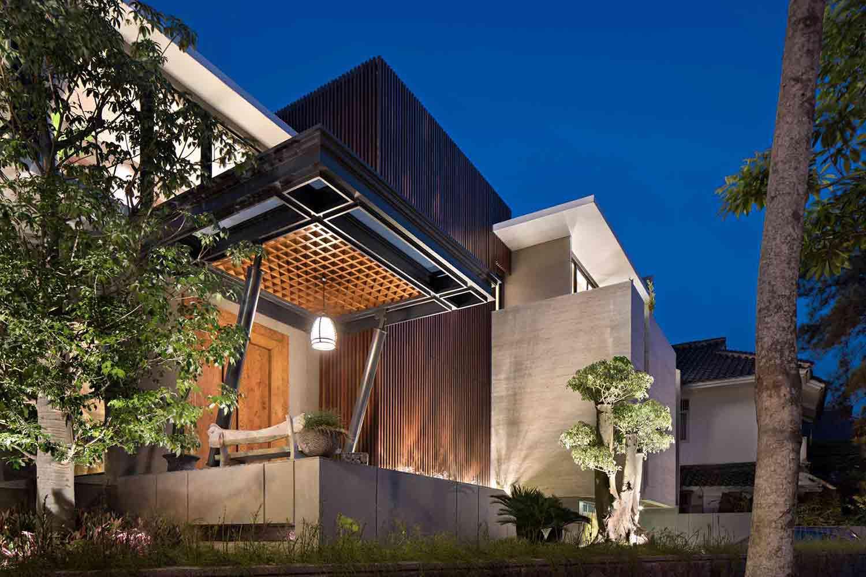 Desain Rumah Mewah Kontemporer Yang Memukau Besutan Gohte Shafuji Arsitag