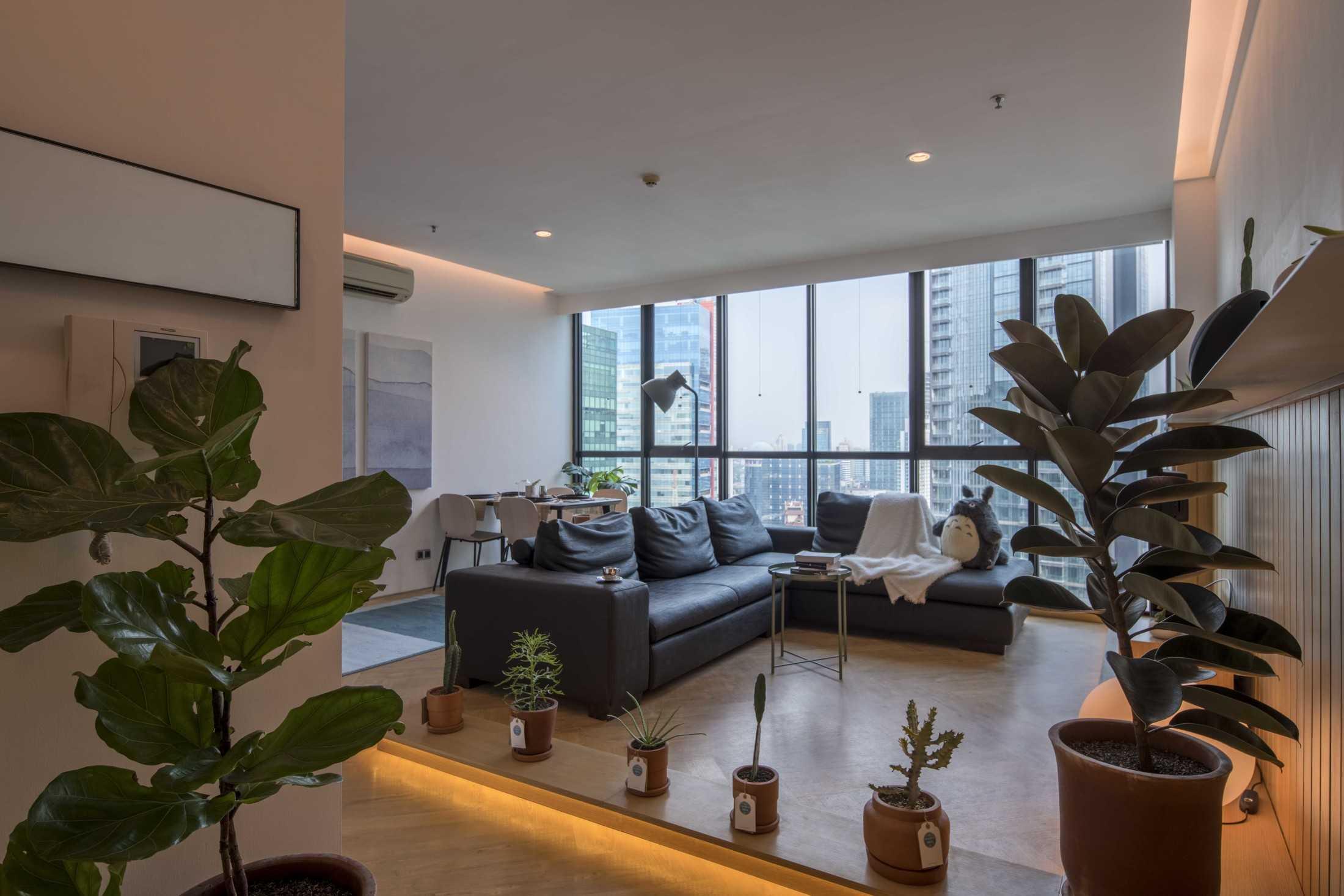 Design Donk Menyulap Apartemen Mungil Jadi Hunian Super Cozy dan Stylish | Foto artikel Arsitag