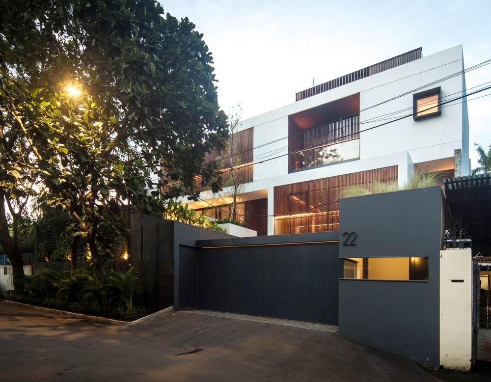 Desain Rumah Mewah Dengan Gaya Minimalis Modern Yang Stylish Di Jakarta Arsitag