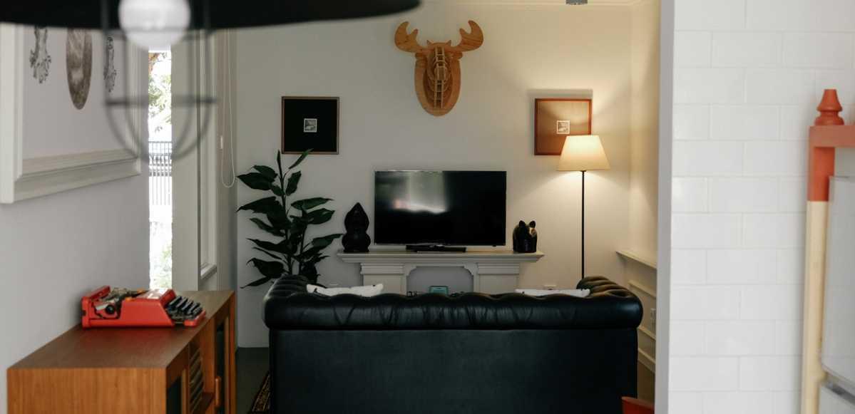 Inspirasi Desain Interior Ruang Keluarga Minimalis untuk Rumah Mungil Anda   Foto artikel Arsitag