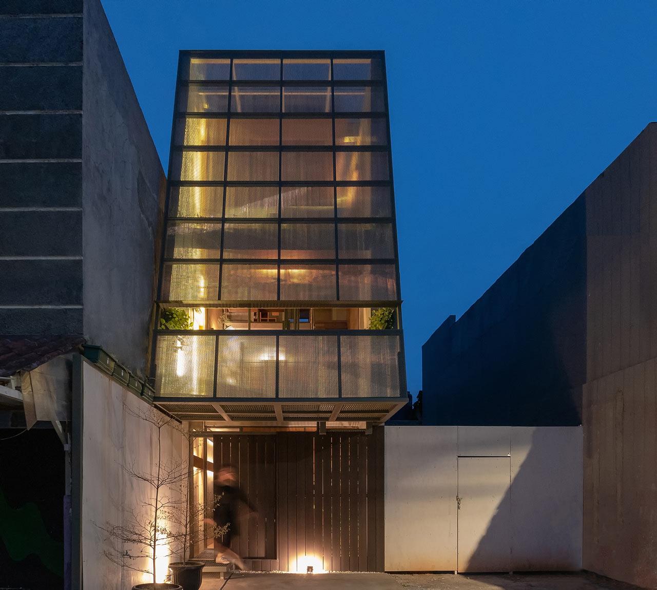 Arsitektur Rumah Sempit dengan Lebar 3,5 Meter yang Unik dan Kreatif | Foto artikel Arsitag