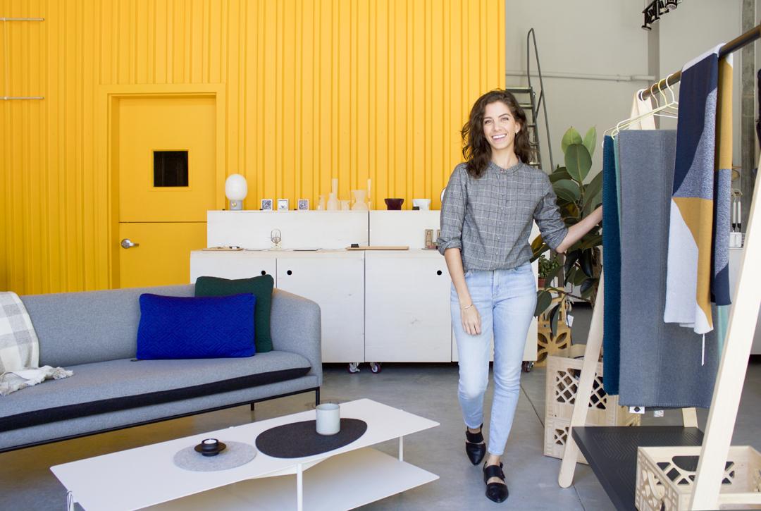 Ana Maria Munoz, pemilik Toko Port of Raleigh // design-milk.com