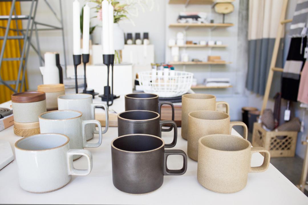 Barang-barang desain yang dijual di Toko Port of Raleigh // design-milk.com