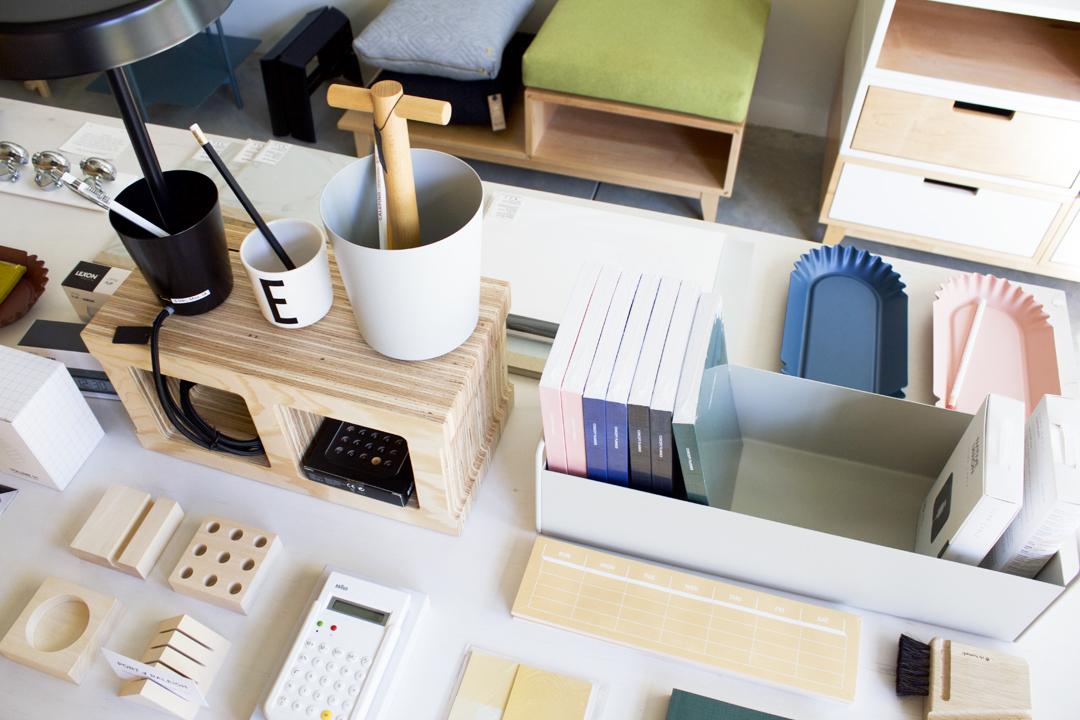 Barang-barang desain yang dijual Toko Port of Raleigh // design-milk.com