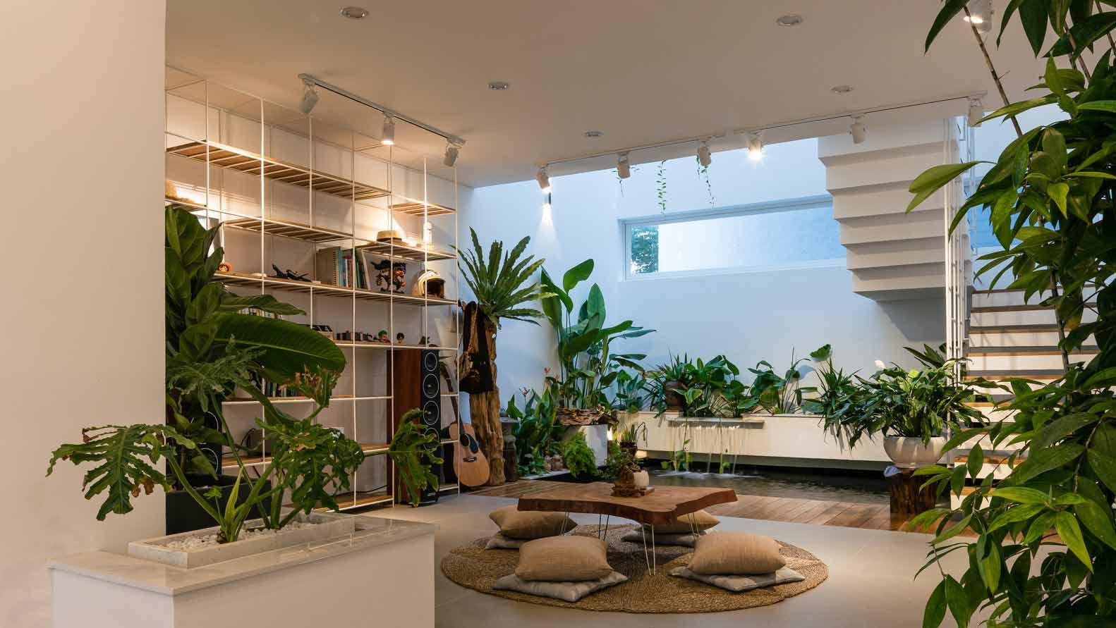 Desain Rumah Minimalis Dengan Hamparan Tanaman Hijau Yang Menyejukkan -  ARSITAG