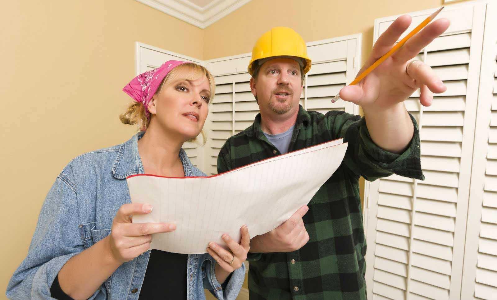 Kontraktor tidak sama dengan desainer interior (Sumber: nchomeremodeling.com)