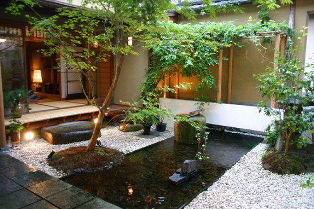 Kolam ikan bernuansa zen garden // pinterest.com