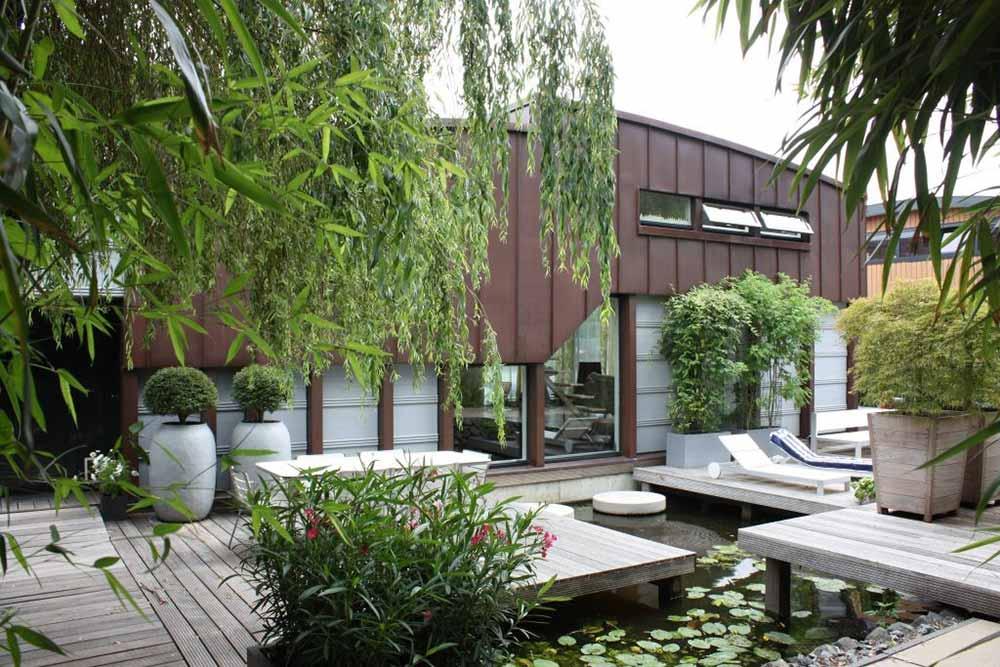 Ide Desain Taman Bergaya Modern Yang Super Cozy Dan Cantik Arsitag