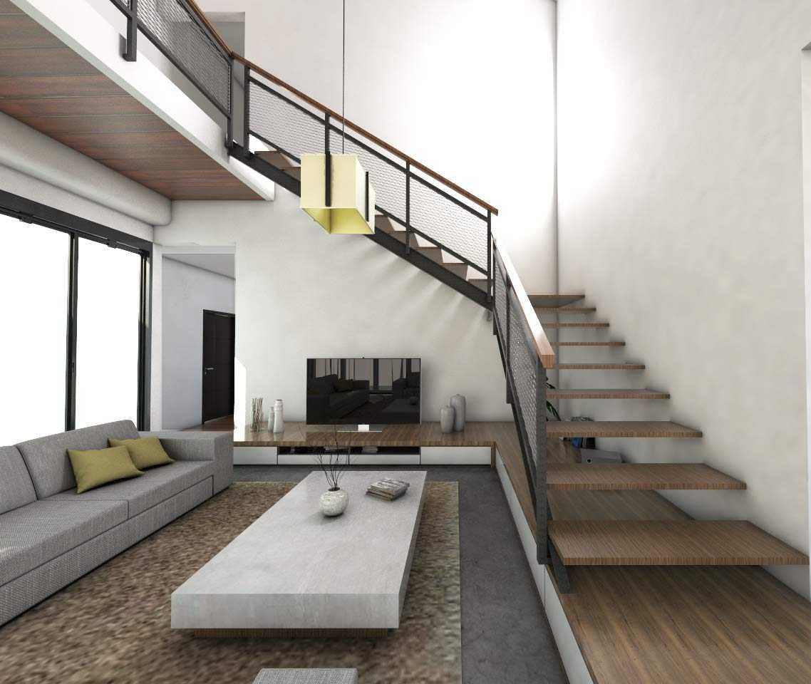 Interior rumah Devlin yang cantik dengan perpaduan nuansa putih dan tekstur kayu // Kenali's Studio