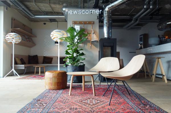 Desain hotel kekinian dengan sentuhan industrial, karya Werner Aisslinger // design-milk.com