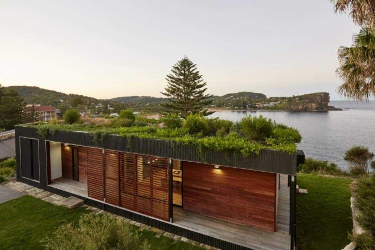 Atap hijau model semak, karya Archi Blox // architectureartdesigns.com